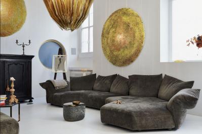 Sedací souprava jako ústřední bod obývacího pokoje