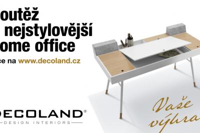 SOUTĚŽ O NEJSTYLOVĚJŠÍ HOME OFFICE