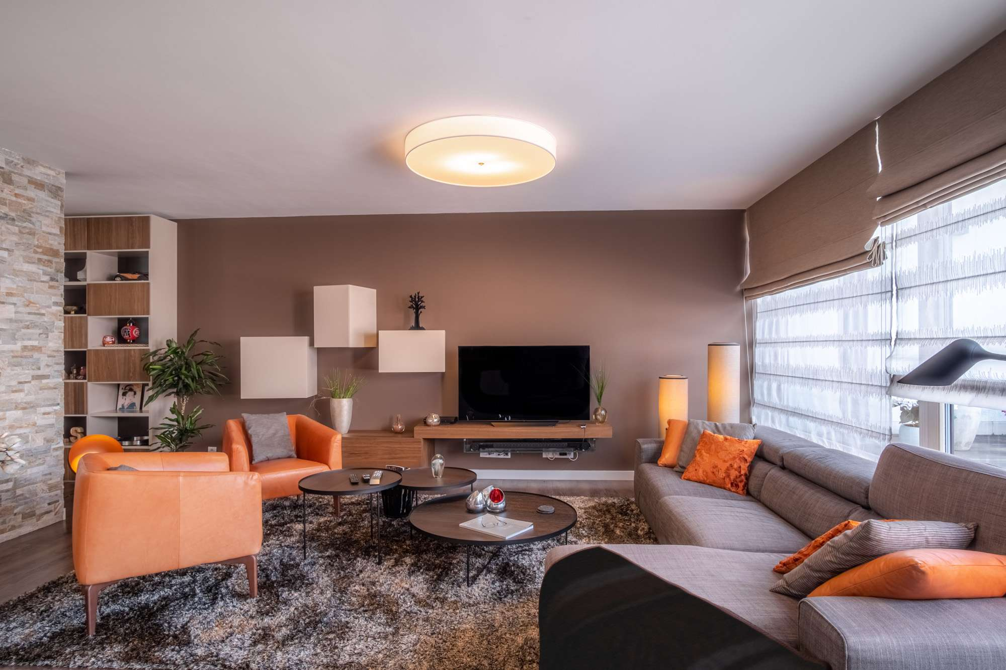 Luxusní obývací pokoj | Návrh interiéru DECOLAND