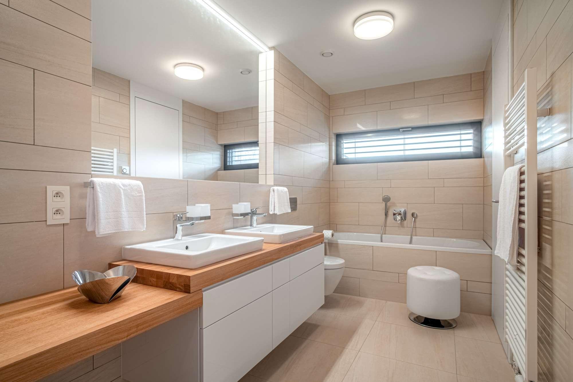 Designový interiér z Decolandu | Designová koupelna