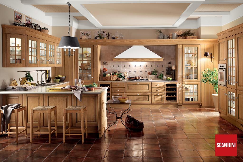Kuchyňská linka Scavolini - Baltimora | Luxusní kuchyně z Decolandu
