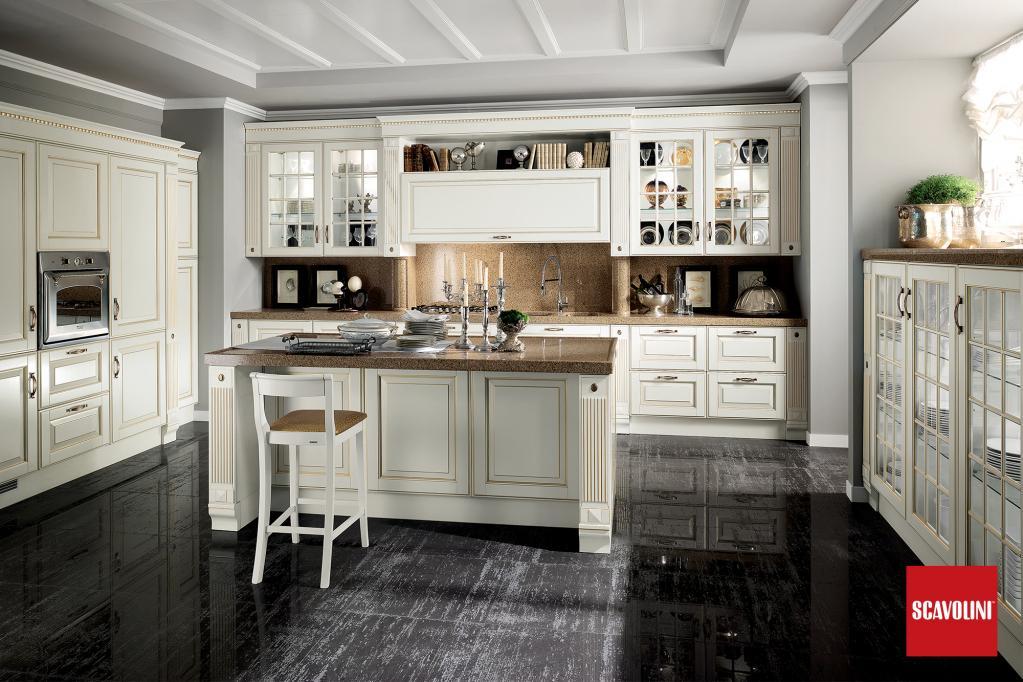 Kuchyňská linka Scavolini |Luxusní kuchyně z Decolandu