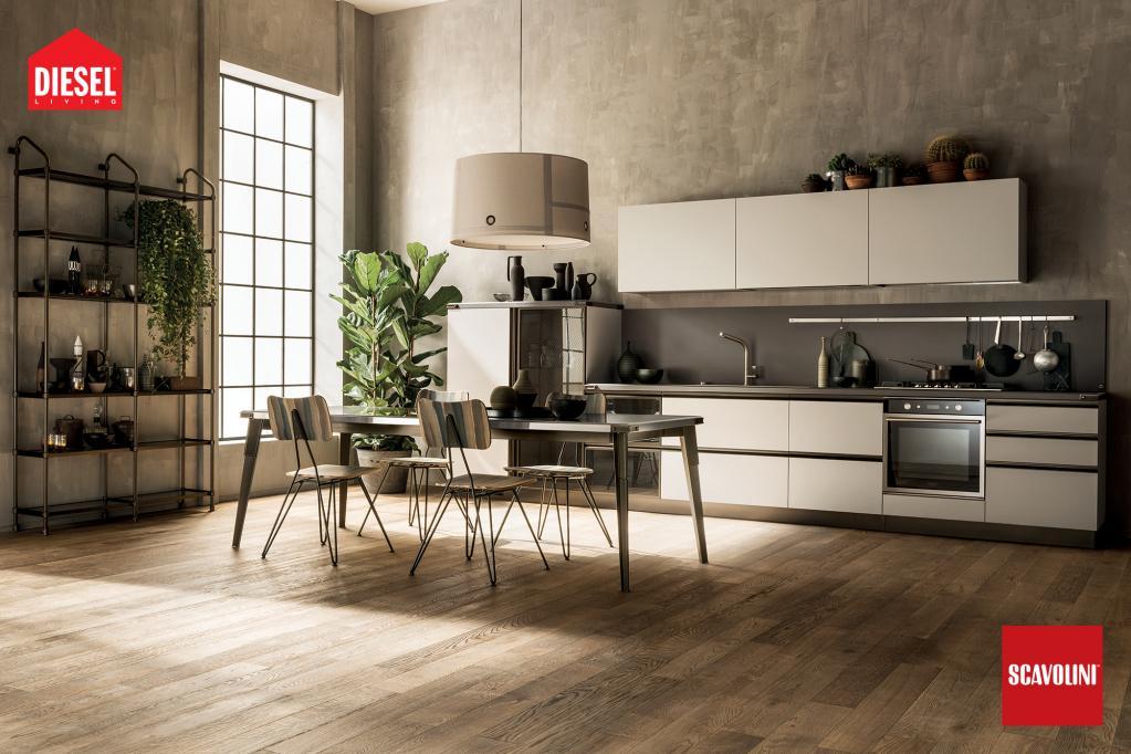 Kuchyňská linka Scavolini - Diesel |Luxusní kuchyně z Decolandu