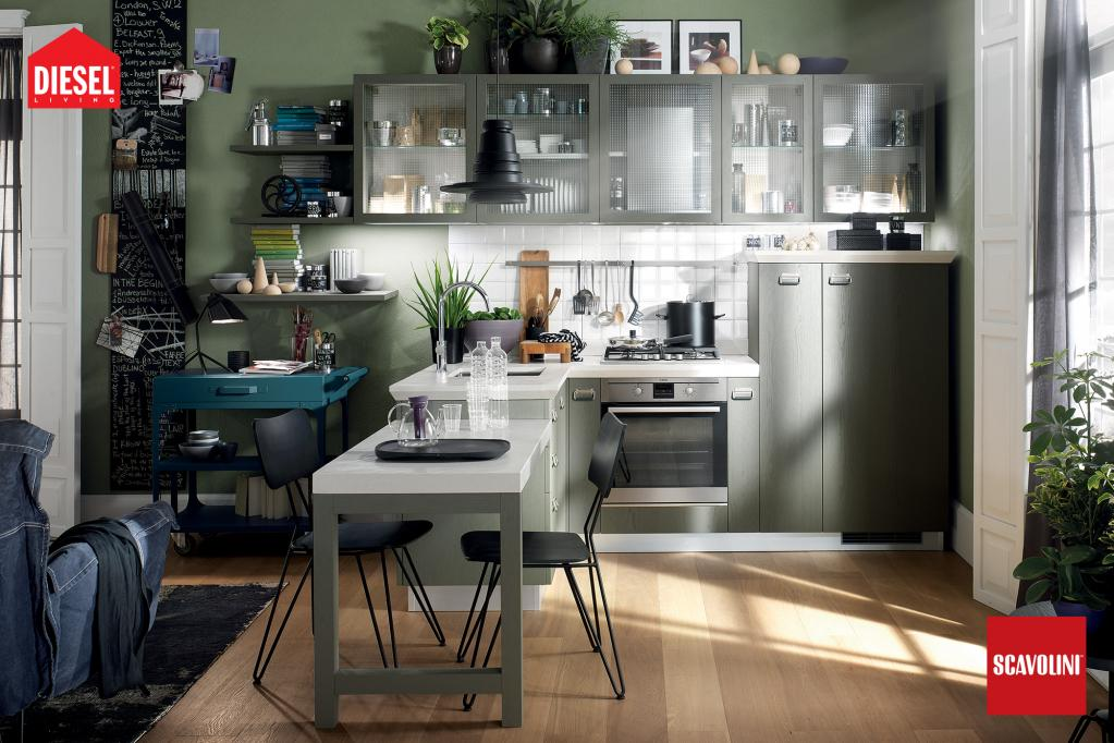 Kuchyňská linka Scavolini - Diesel | Kuchyňské studio Decoland