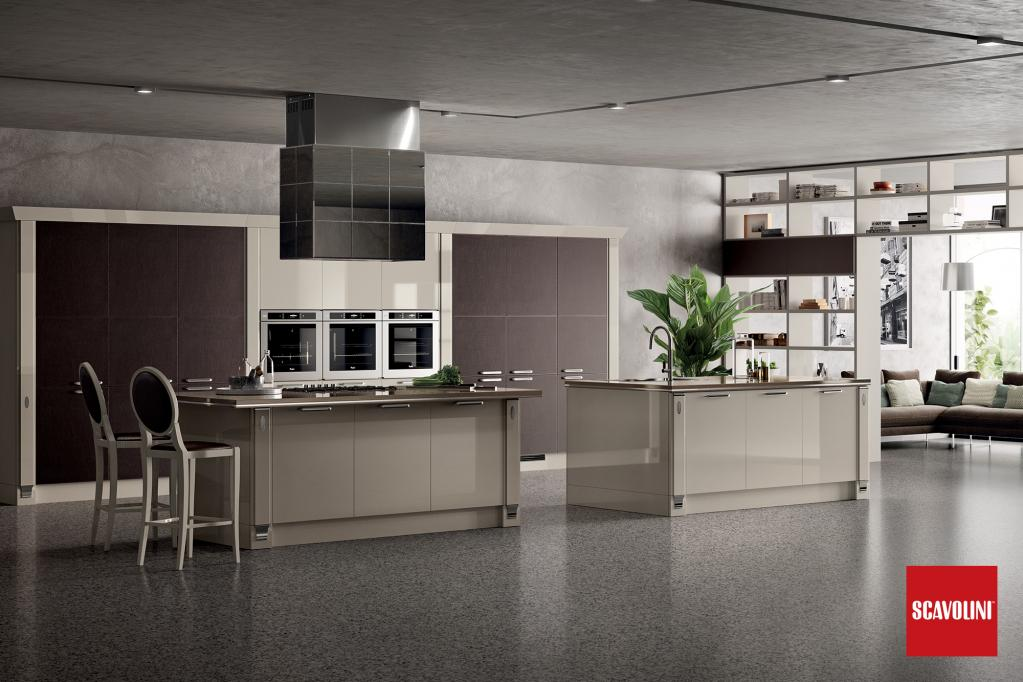 Kuchyňská linka Scavolini | Kuchyňské studio Decoland