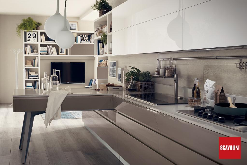 Kuchyňská linka Scavolini - Motus | Kuchyňské studio Decoland