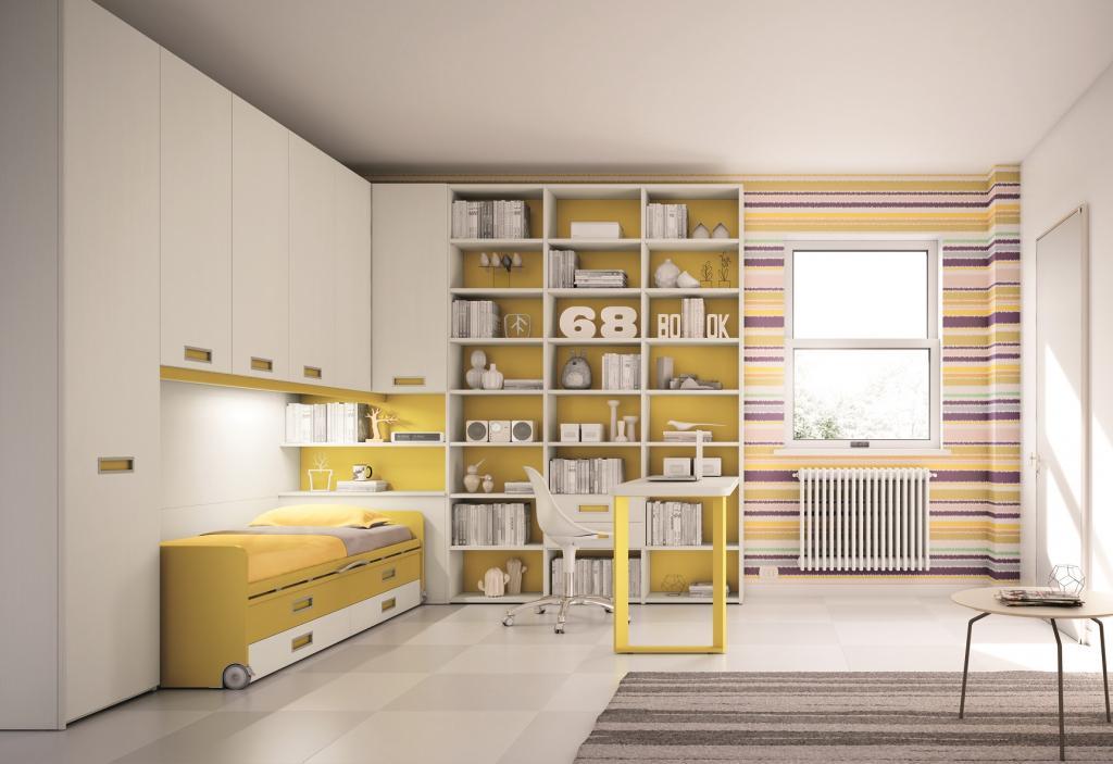 Dětské pokoje Moretti Compact