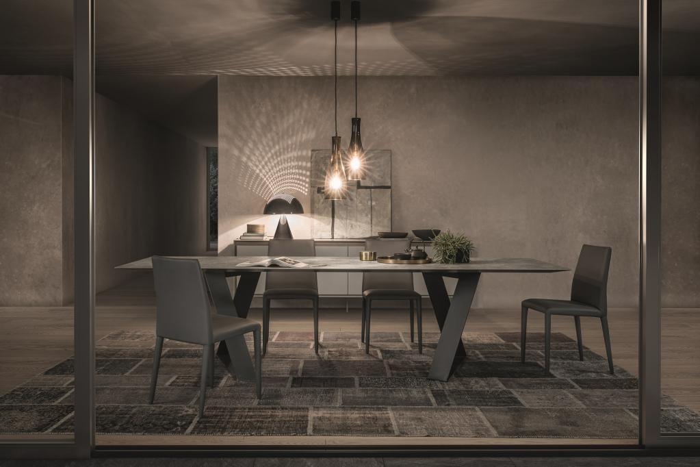 Jídelní stůl a židle Presotto Italia