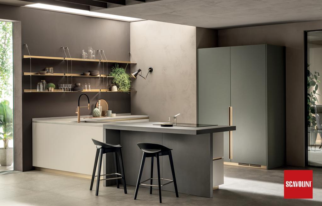 Kuchyňská linka Scavolini - Delinea | Kuchyňské studio Decoland