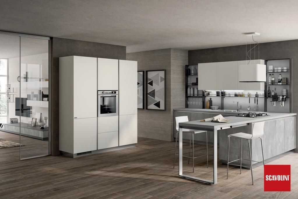 Kuchyňská linka Scavolini | Luxusní kuchyně z Decolandu