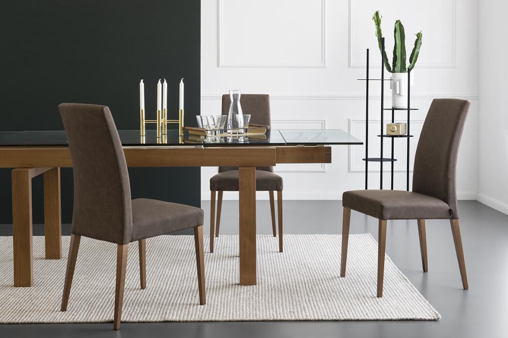 Calligaris pohodlné jídelní židle