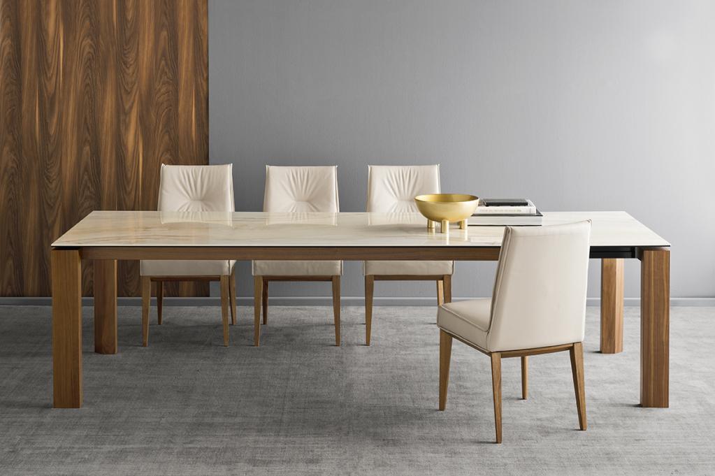Luxusní jídelní nábytek - světlý