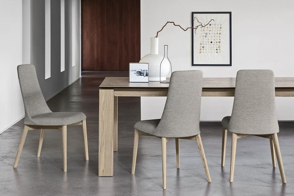 Pohodlné jídelní židle Calligaris