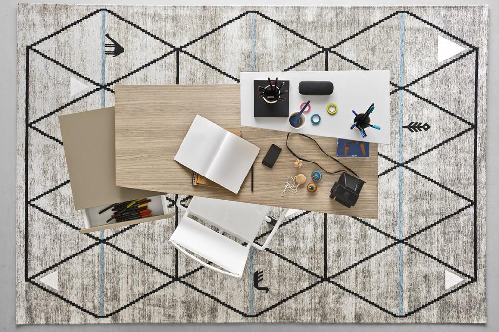 Praktický pracovní stůl Calligaris