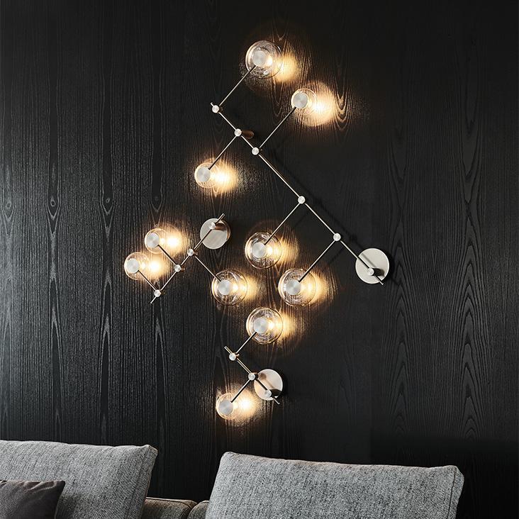 Moderní nástěnné osvětlení