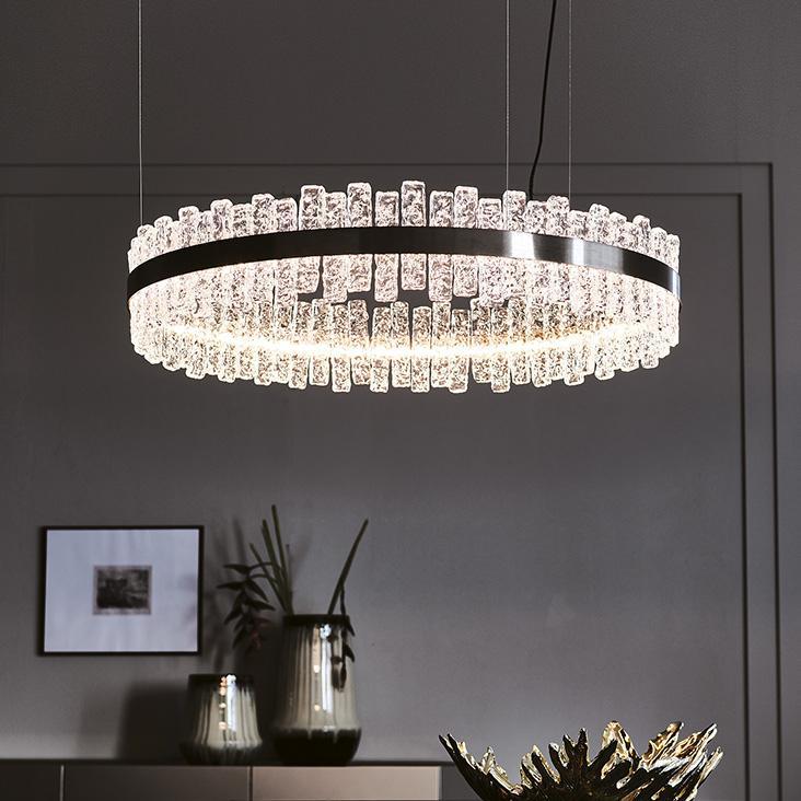 Luxusní závěsný lustr