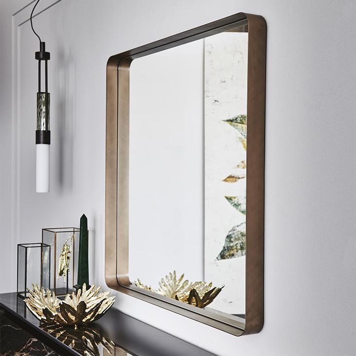 Čtvercové zrcadlo Cattelan Italia