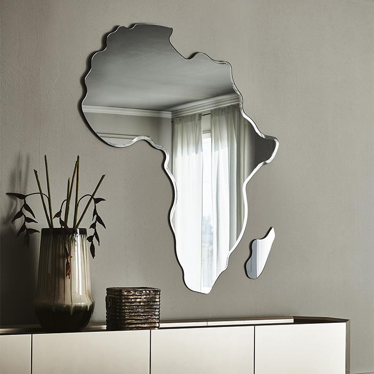 Zrcadlo mapa Afriky