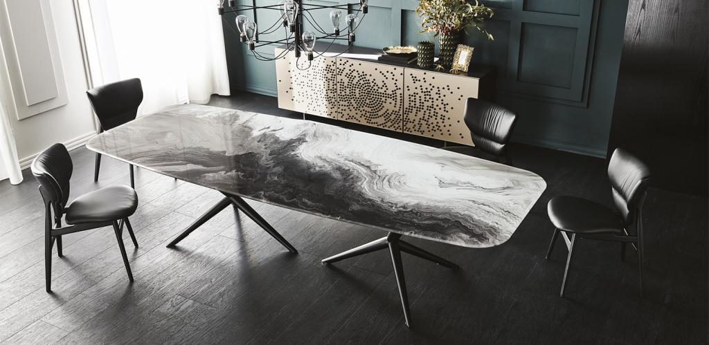 Moderní stůl a židle Cattelan Italia
