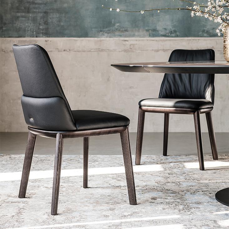 Černé židle Cattelan Italia