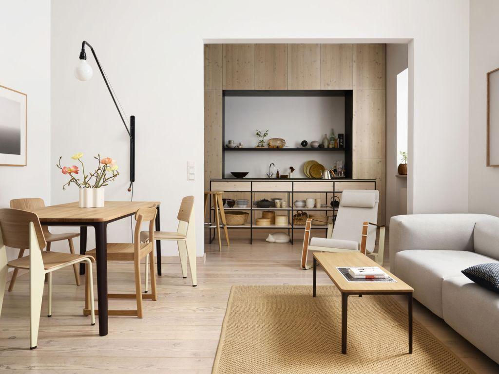 Dřevěný nábytek Vitra