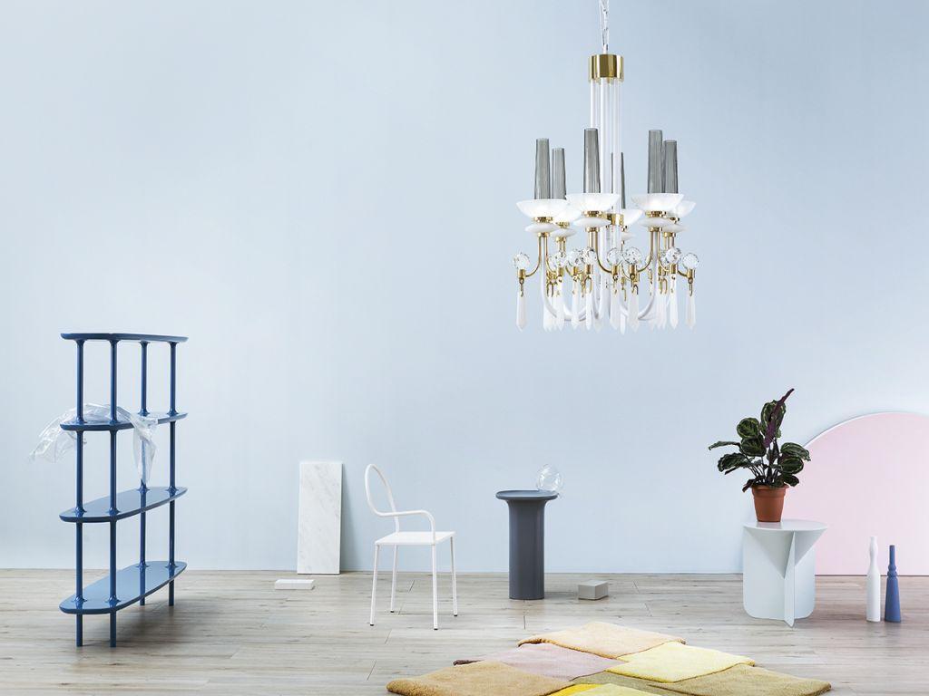 Závěsné svítidlo DIVA od MM Lampadari https://www.mmlampadari.com/en/products/contemporary-style/chandeliers/diva/