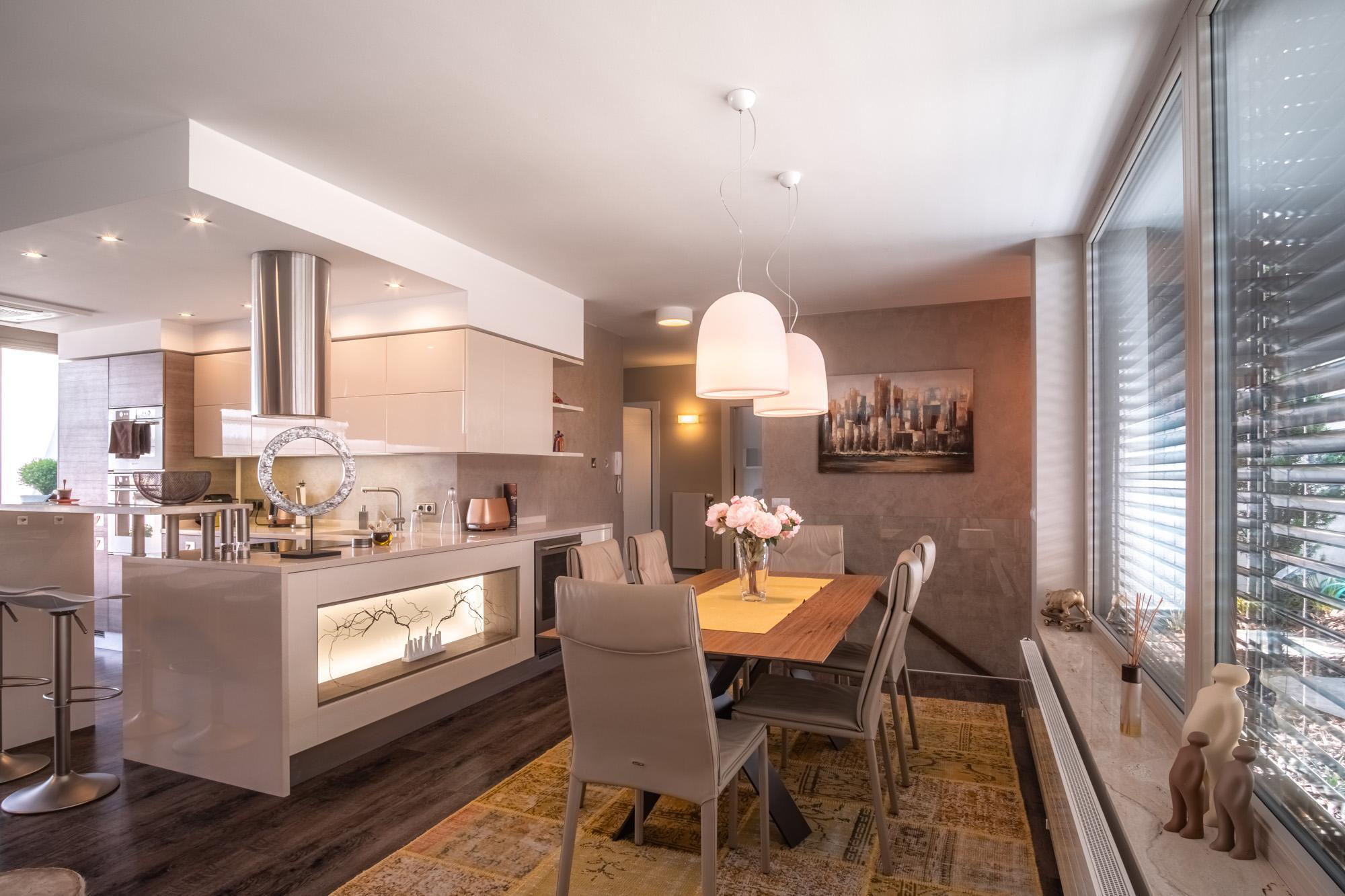 Kompletní realizace interiéru bytu v Brně