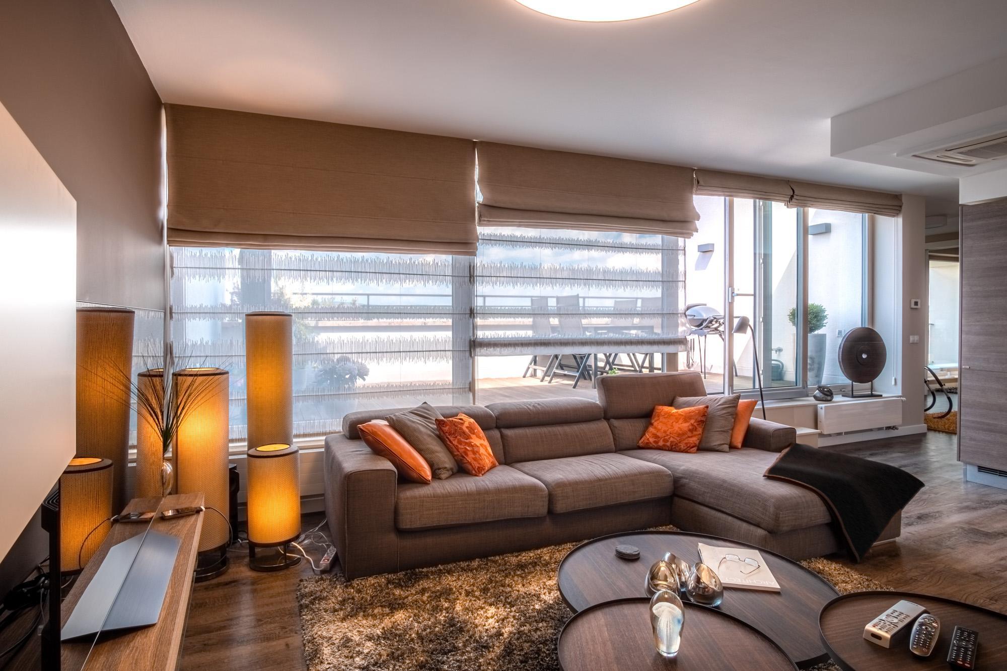 Designový obývací pokoj | Návrh interiéru DECOLAND