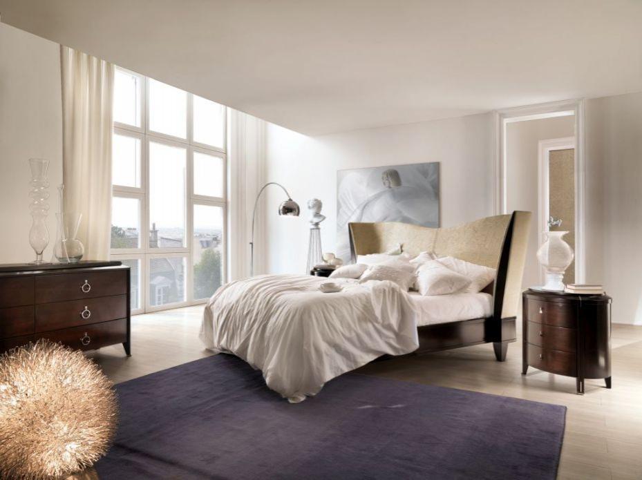 Selva světlá designová postel