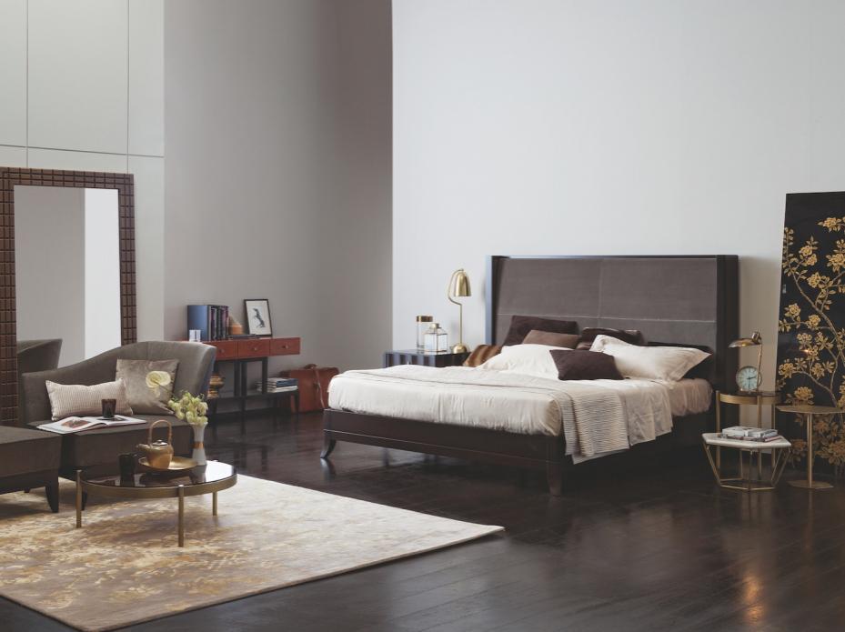 Designová postel Selva