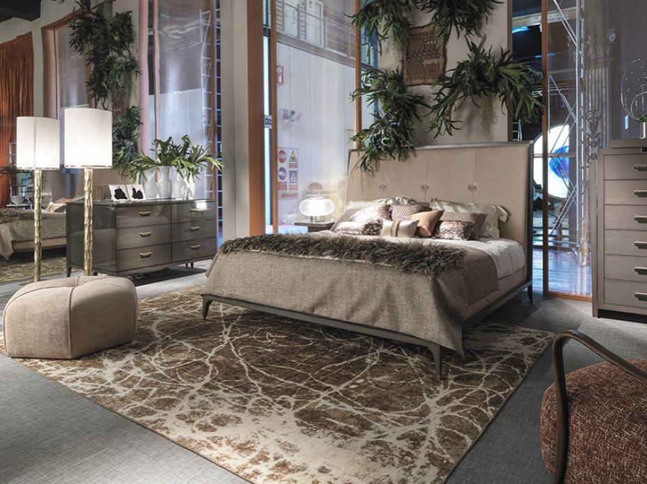 Stylová pohodlná postel Selva