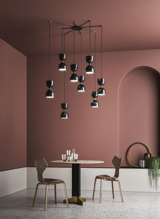 Osvětlení Clessidra od MM Lampadari https://www.mmlampadari.com/en/products/contemporary-style/chandeliers/clessidra/