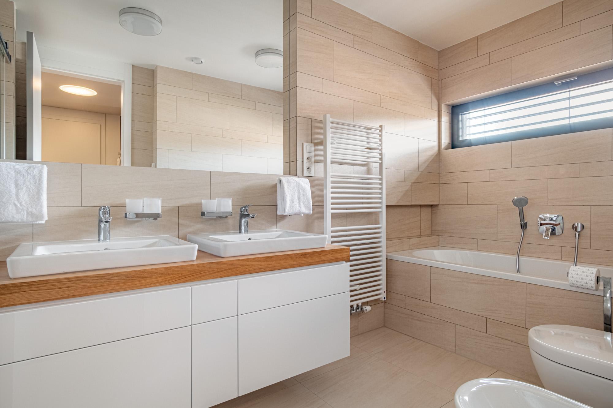 Designový interiér z Decolandu   Designová koupelna