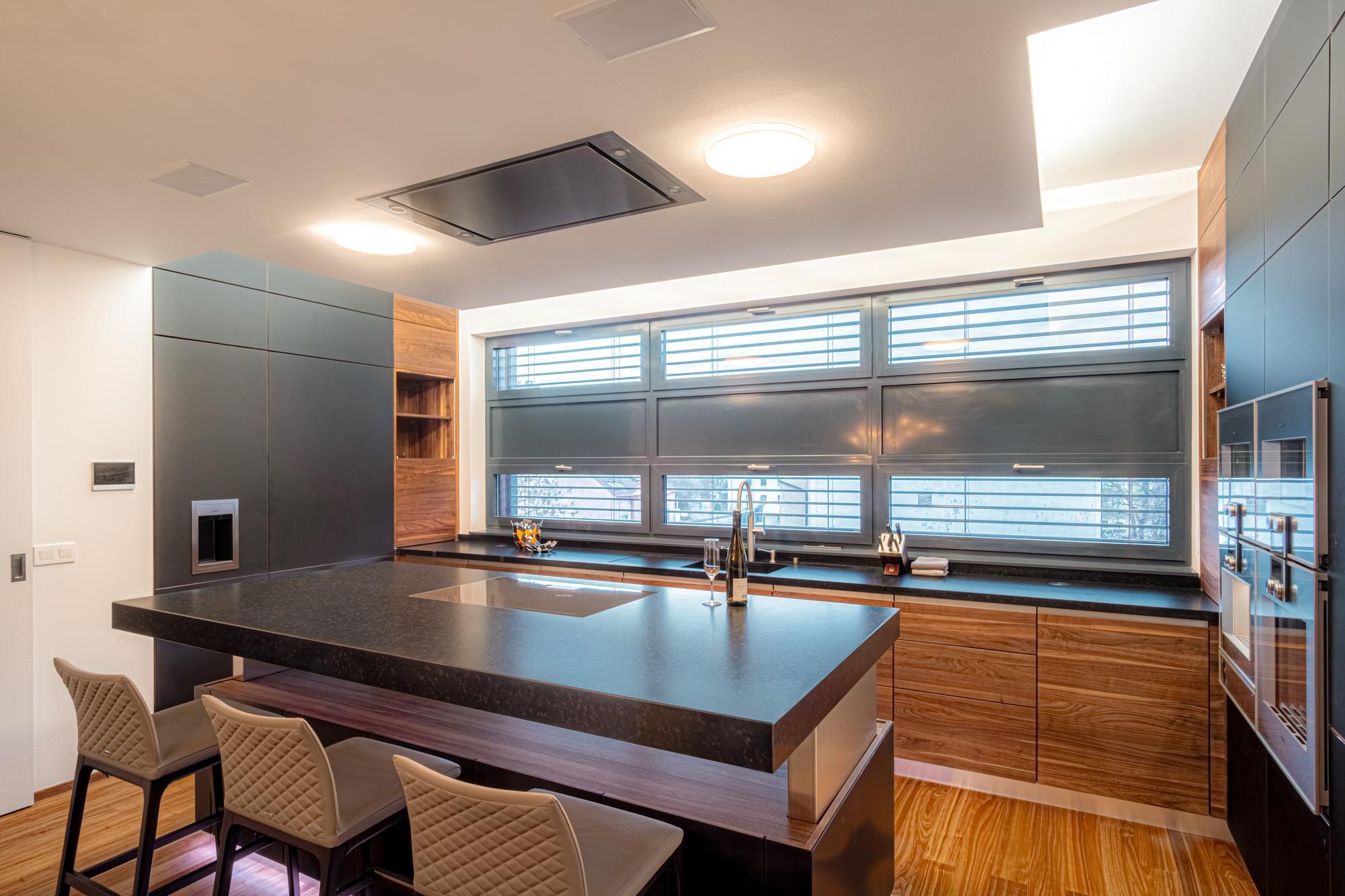 Kompletní realizace interiéru bytu v pražské novostavbě