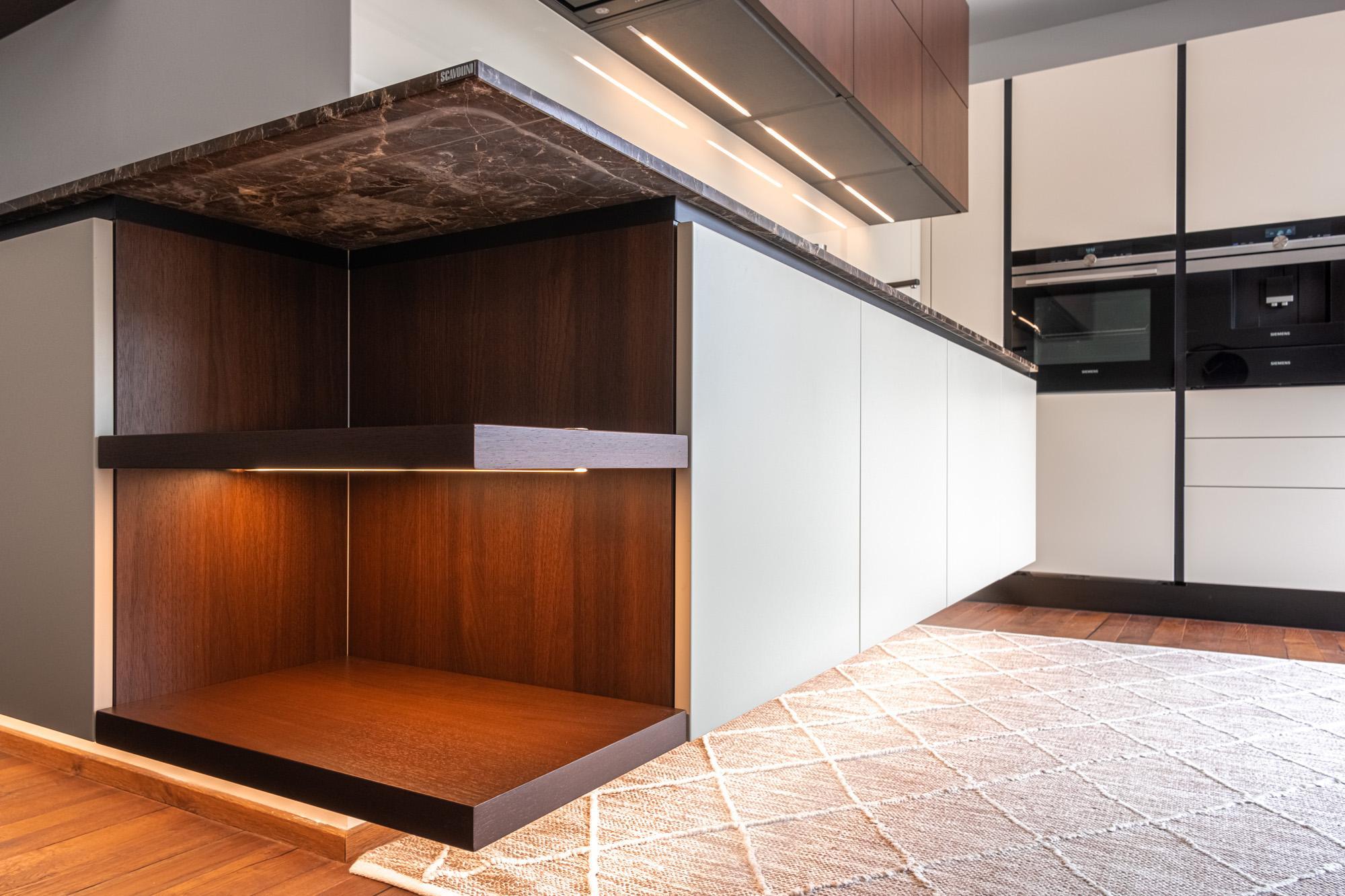 Designový interiér z Decolandu   Realizace kuchyně Scavolini