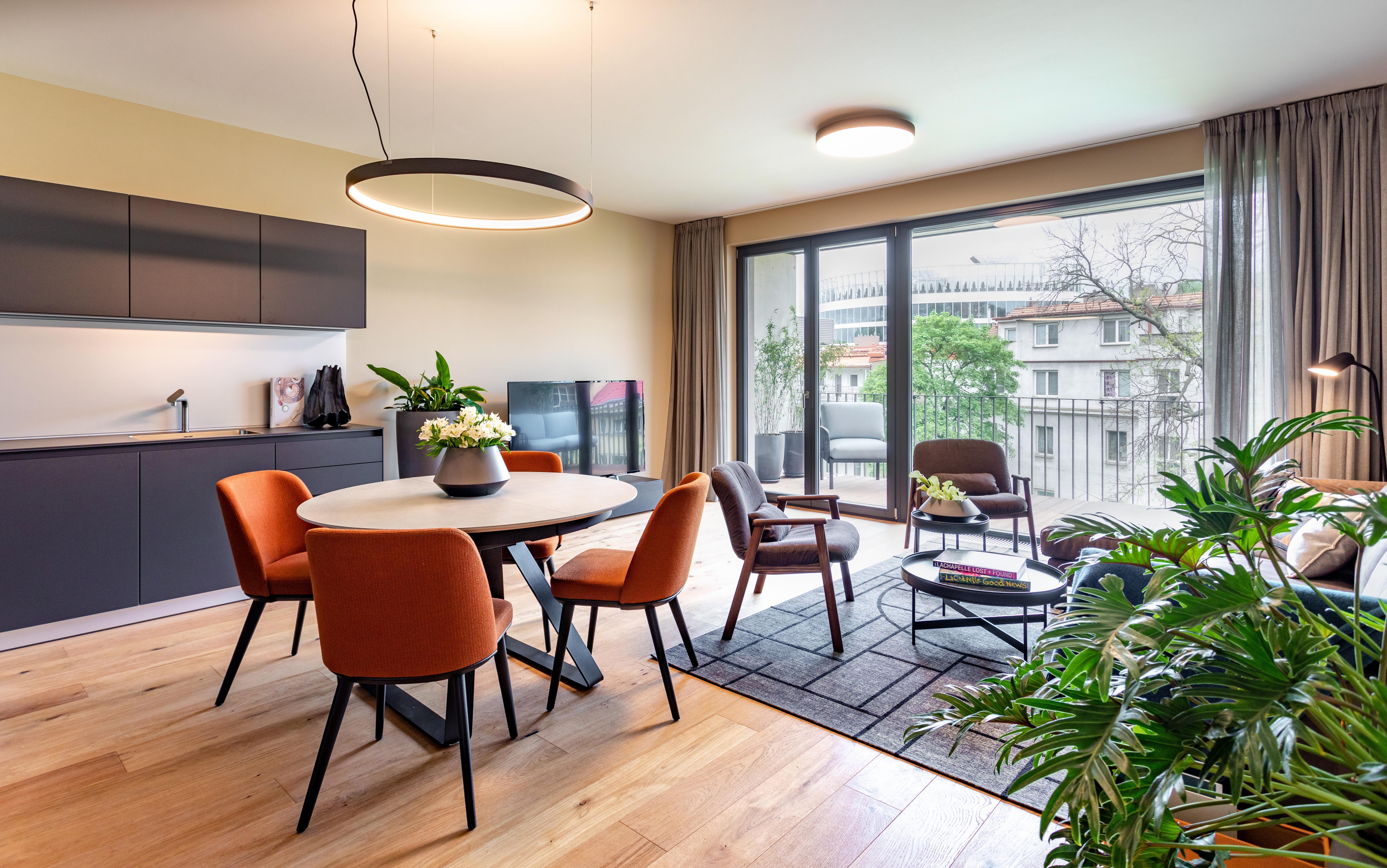Kompletní realizace interiéru vzorového bytu