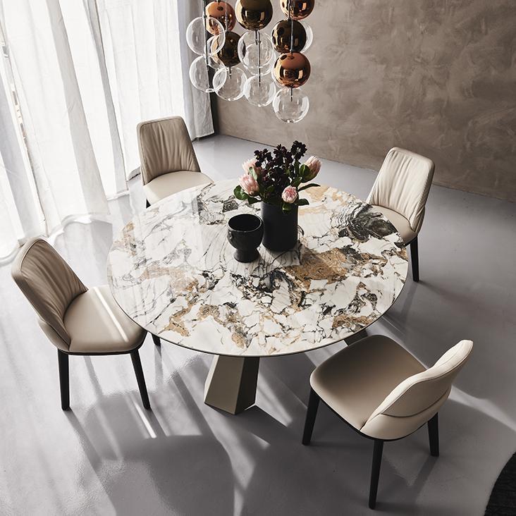 Jídelní stůl Eliot Keramik round