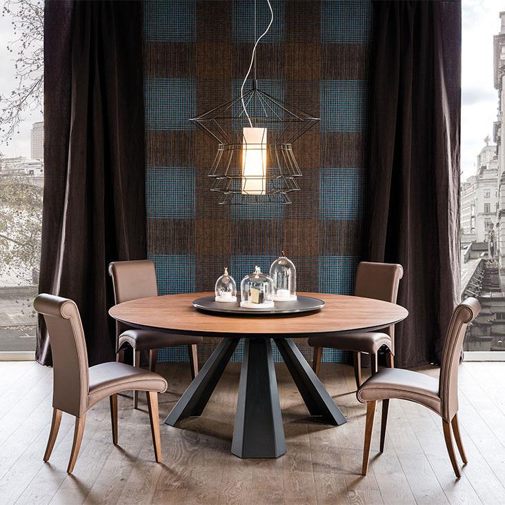 Jídelní stůl Eliot Wood round