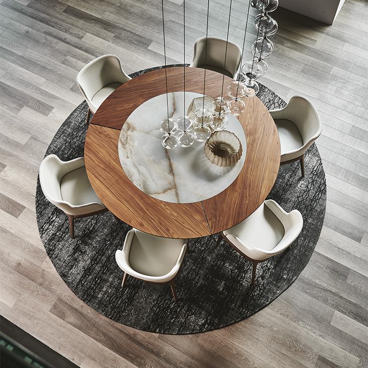 Kulatý jídelní stůl Soho Ker Wood