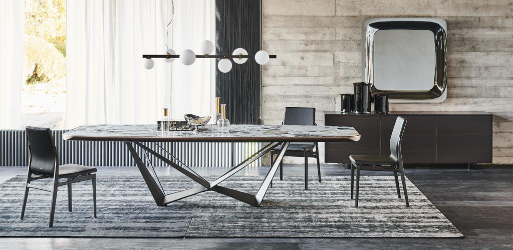 Jídelní stůl Skorpio Keramik