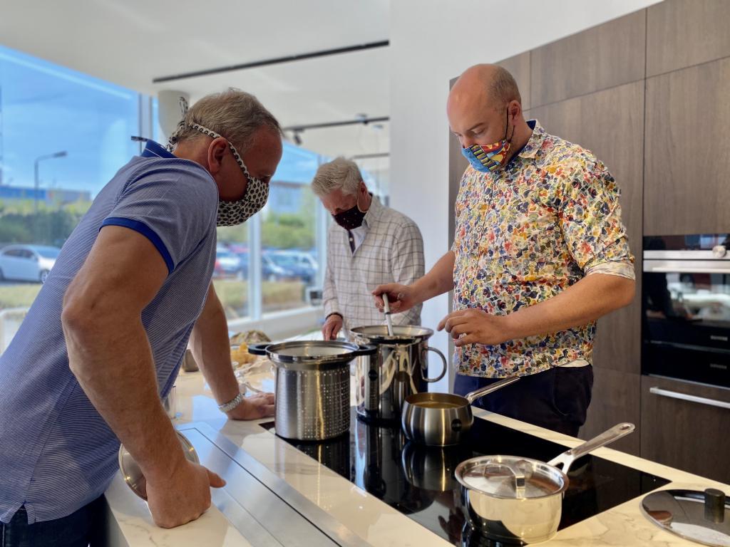 Vaření v DECOLANDU